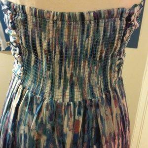 Flowing soft maxi dress